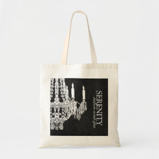 Chandelier Salon Tote Bag
