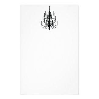 chandelier stationery