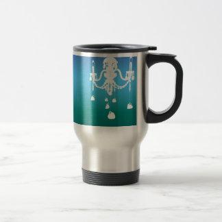 Chandelier travel mug (ocean blues)