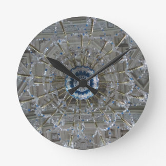 chandelier wall clocks