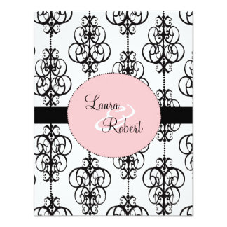 "Chandelier Wedding Invitations - 4.25"" x 5.5"" 4.25"" X 5.5"" Invitation Card"