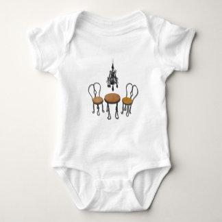 ChandelierBistroSetting121611 Baby Bodysuit