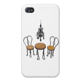 ChandelierBistroSetting121611 iPhone 4/4S Cover
