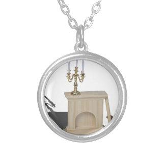 ChandelierFireplaceLogsHatchet101115.png Round Pendant Necklace