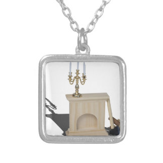 ChandelierFireplaceLogsHatchet101115.png Silver Plated Necklace