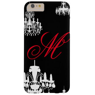 Chandeliers Custom Monogram Case Barely There iPhone 6 Plus Case