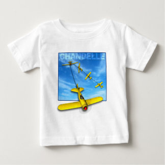 Chandelle Aerobatic maneuver with Airplane Baby T-Shirt