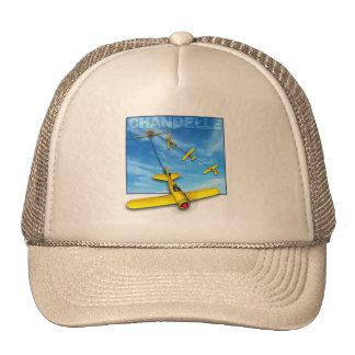 Chandelle Aerobatic maneuver with Airplane Trucker Hat