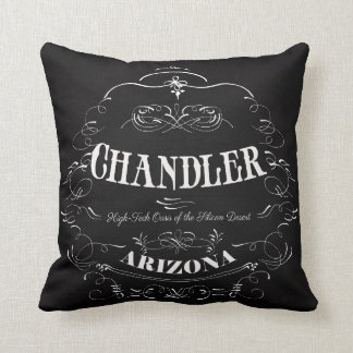 Chandler, Arizona - High Tech Oast Throw Pillow