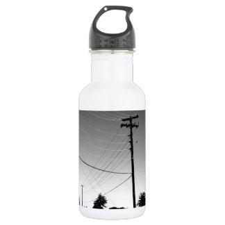 Chandler AZ Powerlines 18oz Water Bottle
