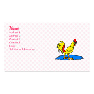 Chandler Chicken Double-Sided Standard Business Cards (Pack Of 100)
