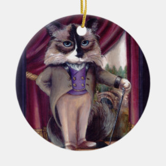 Chandler Le Chat Ceramic Ornament
