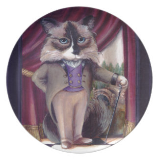 Chandler Le Chat Dinner Plates