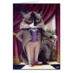 Chandler Le Chat Greeting Card