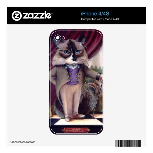 Chandler Le Chat iPhone 4 Skins