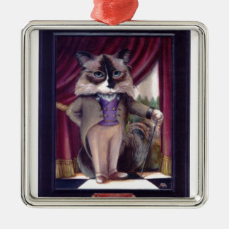 Chandler Le Chat Metal Ornament