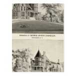 Chandler residence, Manchester, NH Post Cards