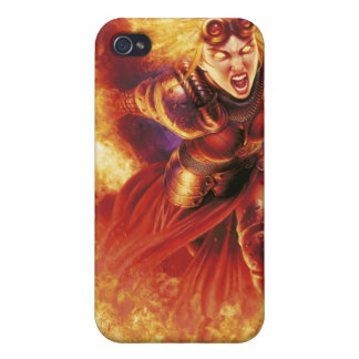 Chandra Ablaze Cover For iPhone 4
