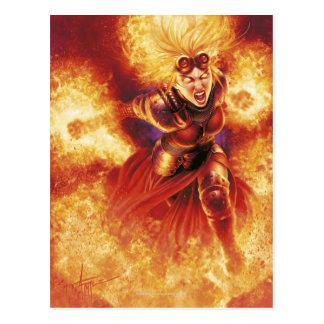 Chandra Ablaze Postcard