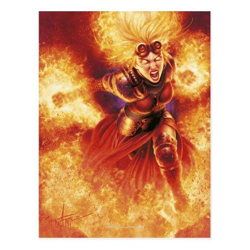 Chandra ardiendo postales