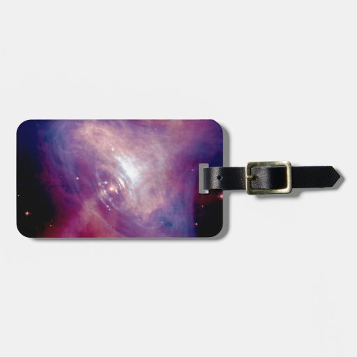 Chandra Crab Nebula Tags For Bags