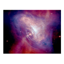 Chandra Crab Nebula NASA Space Postcard