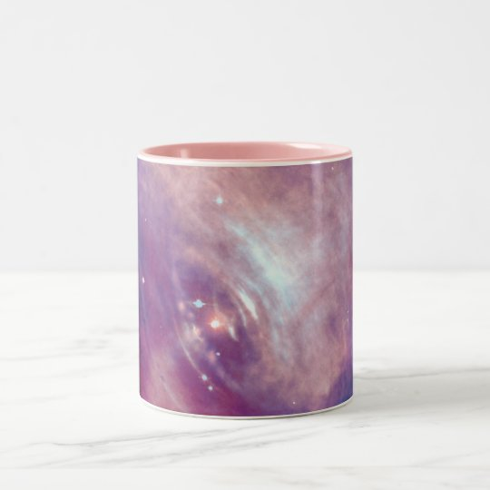 Chandra Crab Nebula NASA Two-Tone Coffee Mug