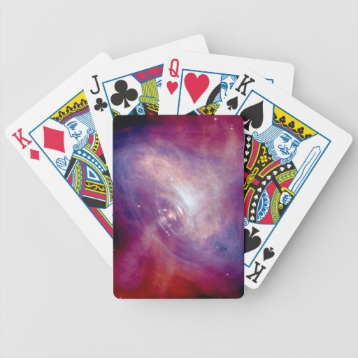 Chandra Crab Nebula Bicycle Playing Cards