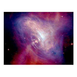 Chandra Crab Nebula Postcards