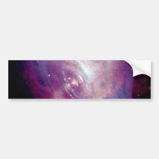 Chandra Crab X-Ray Nebula NASA Bumper Sticker