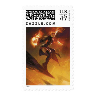 Chandra the Firebrand Postage Stamp