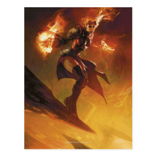 Chandra the Firebrand Postcard