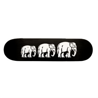 Chang Chang Chang ~ Elephants Crossing Skateboard