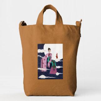 Chang 'E Duck Canvas Bag