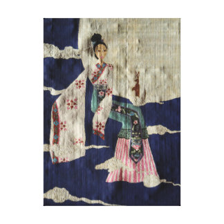 Chang 'E (Papyrus Version) Stretched Canvas Print