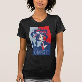 Chang e camiseta