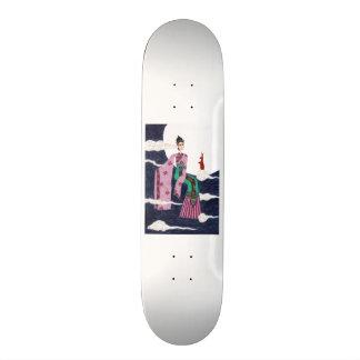 Chang 'E Skateboard Deck