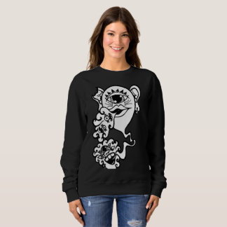 Changa Black Jumper Sweatshirt