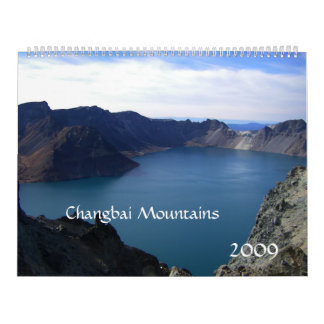 Changbai Mountains, China/Travel Photos Calendar