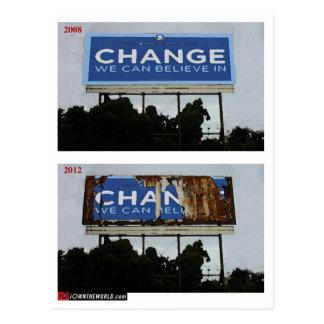 Change2012 Postcard
