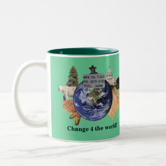 Change 4 the World Logo Mug