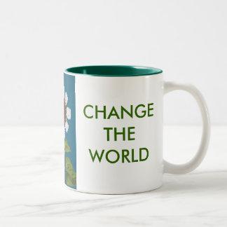 CHANGE A LIGHT, CHANGE THE WORLD MUG