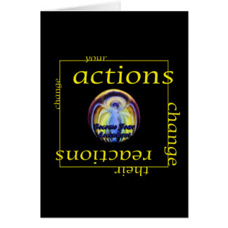 Change Actions and Reactions Card