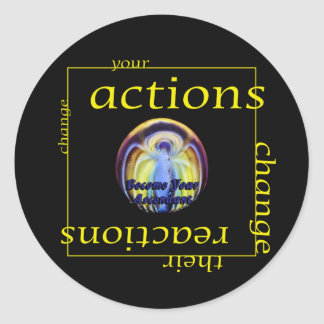 Change Actions and Reactions Sticker