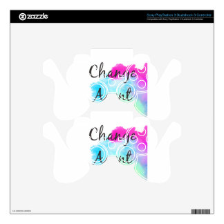 Change Agent Decal For PS3 Controller