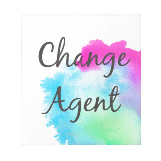 Change Agent Notepad