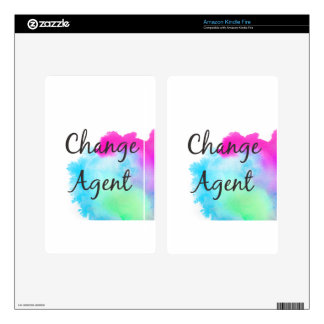 Change Agent Skin For Kindle Fire