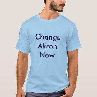 Change Akron Now Basic T T-Shirt