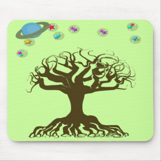 Change Backgorund color to fit your decor! Mouse Pad