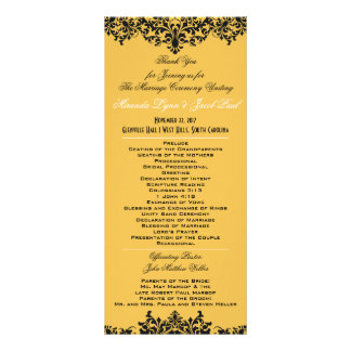Change Background Color Wedding Program